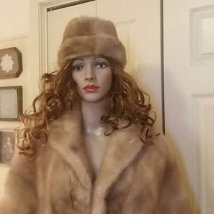 Vintage Mink Stole and Hat , Vaughan Weil